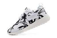"Кроссовки женские Nike Roshe Run ""Белые с пальмами""  р.36, 40 , фото 1"