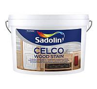 Sadolin Celco Wood Stain Бесцветный 2,5 л Морилка на водной основе для декоративной отделки древесины