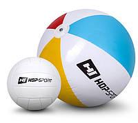 2 мяча: Волейбольный мяч и Надувной