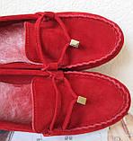 Nona! Супер! Мягкие женские мокасины черного цвета замшевые туфли весна лето Нона, фото 8
