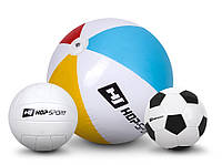 3 мяча: Футбольный, Волейбольный мяч и Надувной