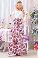 Стильное платье 6055 ш $