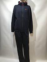 Мужской спортивный костюм Nike (большой размер) / трикотажный / темно/синий, фото 1