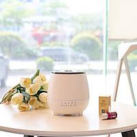 Аромадиффузор и увлажнитель воздуха FreshAroma Bluetooth Speaker White (608-72W)