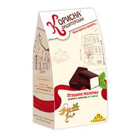 """Шоколадные конфеты Птичье молоко """"Корисна Кондитерська"""" без сахара, 150 г"""