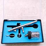 Аэрограф профессиональный Tagore TG182N (0,3мм) серия PRO-K, фото 3