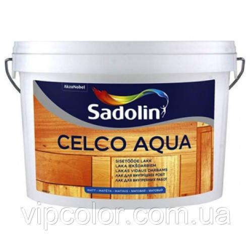 Sadolin Celco Aqua 2,5 л лак для деревянных поверхностей Глянцевый 70