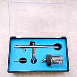 Аэрограф профессиональный Tagore TG182N (0,3мм) серия PRO-K, фото 2