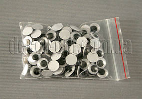 Глазки черно-белые 8 мм ~100 шт.