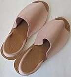 Стиляшки! Женские кожаные сандалии испанка! Летние босоножки менорки цвет пудра, фото 7