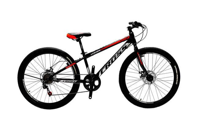 """Горный детский подростковый велосипед ригид 24"""" CROSS LEGION, фото 2"""