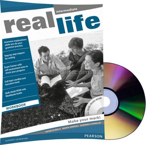 Английский язык /Real Life/ Workbook+CD. Тетрадь к учебнику, Intermediate / Pearson