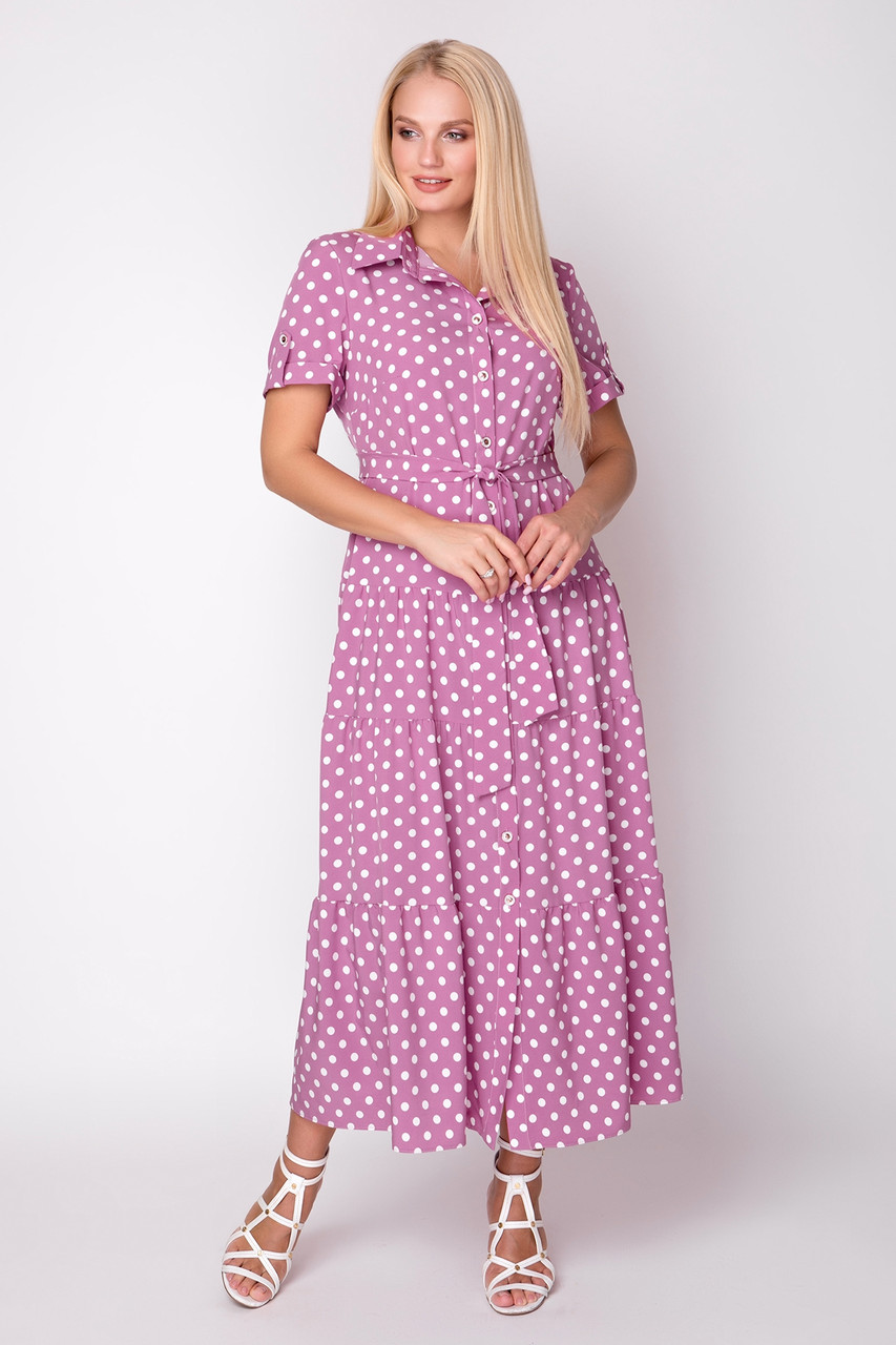 Платье Молли 48-56 фуксия