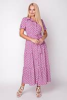 Платье Молли 48-56 фуксия, фото 1