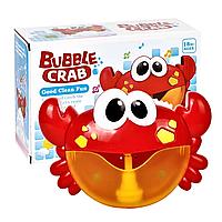 Новинка! Музыкальная симпатичная игрушка для ванной Краб Crabbubbles в коробке