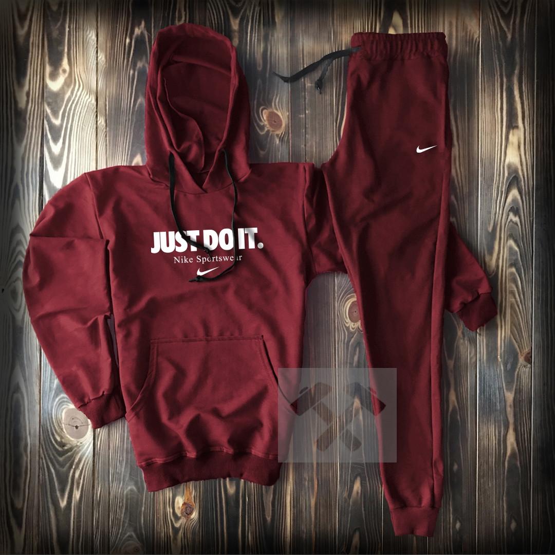 86a5b084 Мужской спортивный костюм Nike Just do it, весна/лето, разные цвета,  толстовка (реплика)