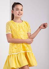 Детское нарядное платье для девочки Ника, размеры 134-152, фото 2
