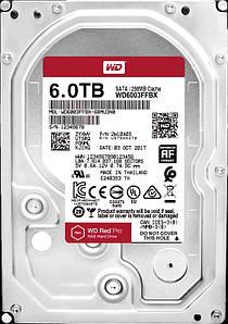 Накопитель HDD SATA 6.0TB WD Red Pro NAS 7200rpm 256MB (WD6003FFBX)