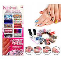 Фольга для ногтей Fab foils
