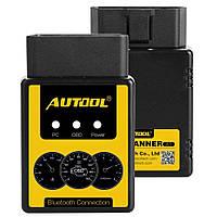 Elm327 V1.5 AUTOOL Bluetooth PIC18F25K80 Диагностический сканер OBD-II /EOBD/JOBD, фото 1