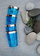 Стаканы стекловидные небьющиеся цветные CFP для яхт,катеров,пляжей,летних банкетов,дач,пасхи 6шт/уп 74мм 220мл