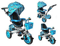 УЦІНКА!!! Велосипед дитячий триколісний синій, фото 1