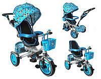 Велосипед дитячий триколісний синій