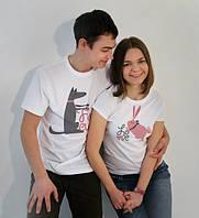 Парные футболки Любовь , фото 1