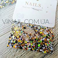 Конфетти для декора ногтей № 9007, фото 1