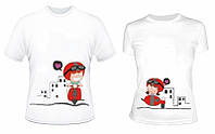 Парные футболки Любовная Поездка