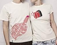 Парные футболки Позвони в звоночек моего сердца