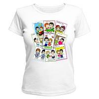 Парные футболки Любовные Истории, фото 1