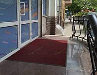 Грязезащитный ковер Рубчик-9 красный 130х200см
