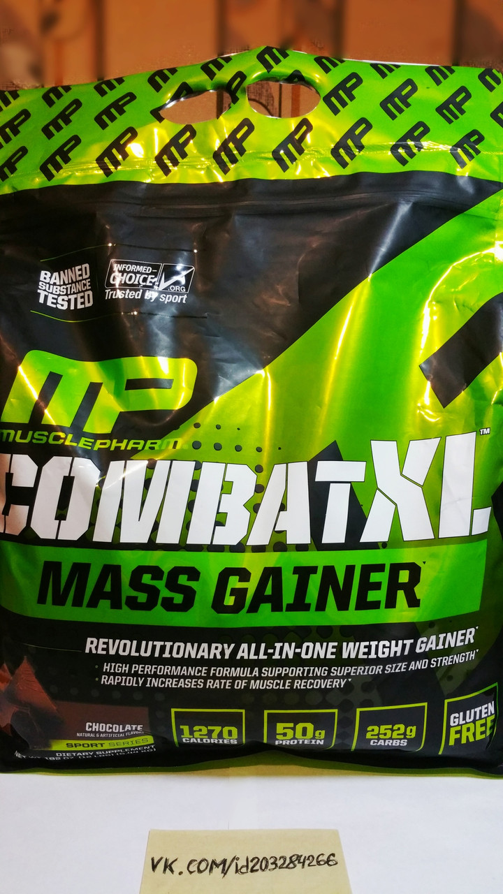 MusclePharm CombatXL Mass Gainer 5.44 кг