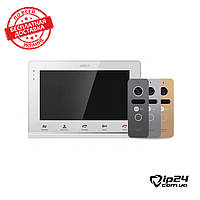 Комплект видеодомофона Arny Avd-710MD + Neolight Solo Graphite