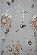 """Тюль органза деворе """"Большие цветы"""", фото 2"""