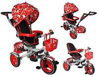 Велосипед дитячий триколісний червоний
