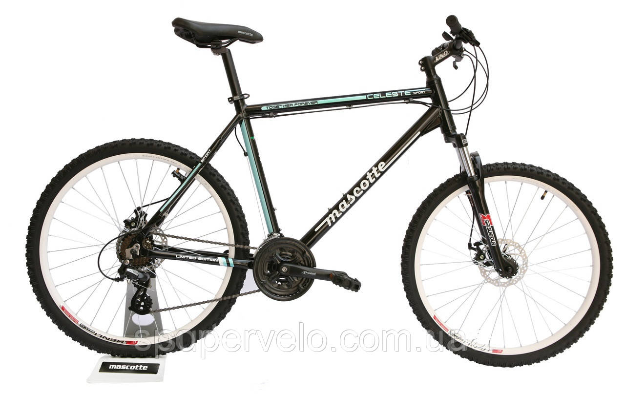 a3d61f038 Купить Велосипед MASCOTTE Celeste MD 26 велосипед черно-бирюзовый в ...