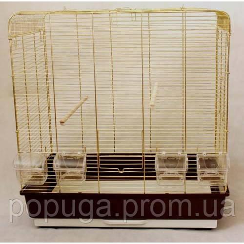 Клетка для птиц KANARKA maxi Gold 62х40х65 см