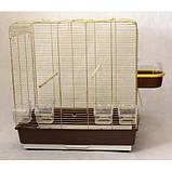 Клетка для птиц KANARKA maxi Gold 62х40х65 см, фото 2
