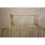 Клетка для птиц KANARKA maxi Gold 62х40х65 см, фото 3