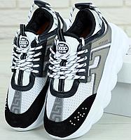 Женские Кроссовки Versace Chain Reaction Sneakers, Версаче