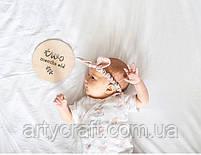 Набор табличек для фотосессии деток (от 1 месяца до 1 года), фото 2