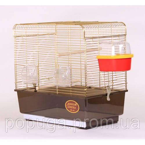 Клетка для птиц KANARKA Medium Gold 50х31х49 см