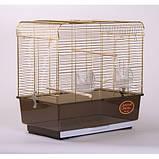 Клетка для птиц KANARKA Medium Gold 50х31х49 см, фото 2