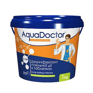 AquaDoctor C-90T (1 кг). Медленный (длительный) хлор. Химия для бассейна, фото 2