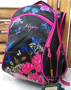 Школьный прочный рюкзак для девочек из плотного непромокаемого материала, на 5 отделов, светоотражатель
