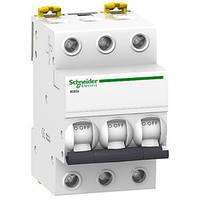Автоматический выключатель Schneider electric Acti9 серии IK60 3p 10 А