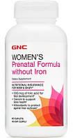 GNC Women's Prenatal Formula without Iron 60 caplets