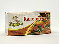 Фиточай натуральный в пакетиках Календула (20пак), фото 1